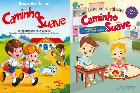 Kit Cartilha Caminho Suave + Livro Atividades