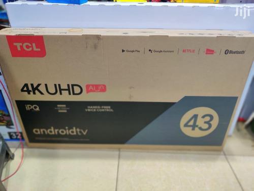 Imagen 1 de 1 de Smart Tv Tcl 4k Android 43 Pulgadas
