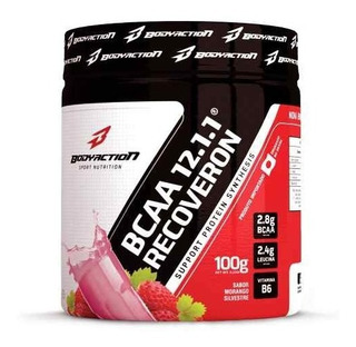 Bcaa 12:1:1 Recoveron 100g - Body Action Sabores