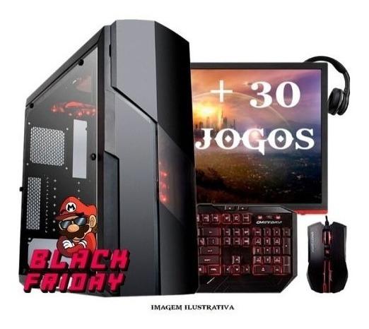 Pc Completo Gamer Barato + 30 Jogos, Promoção! Black Friday!