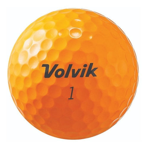 Imagen 1 de 2 de Pelotas Golf Volvik S3 Orange 12 Pz