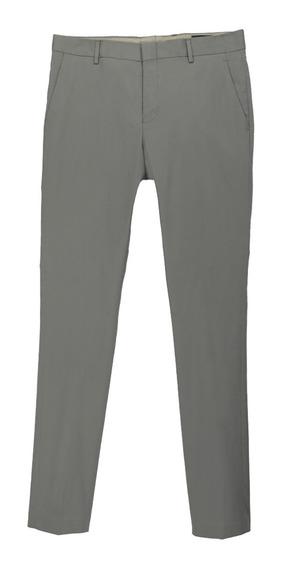 Pantalón Básico Ajustado De Hombre C&a