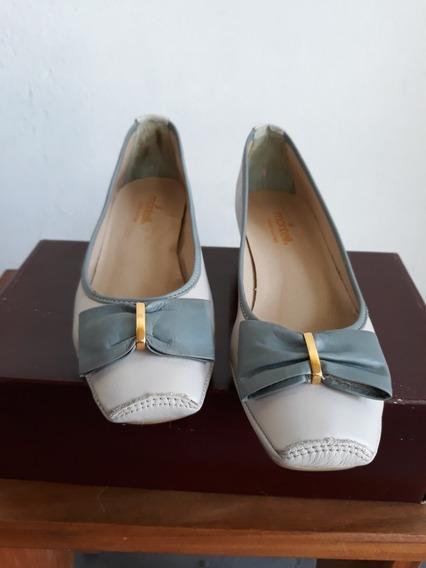 Sapato Montelli Couro N° 35
