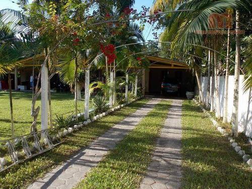 Chácara Residencial À Venda, Jardim São Fernando, Itanhaém. - Ch0096