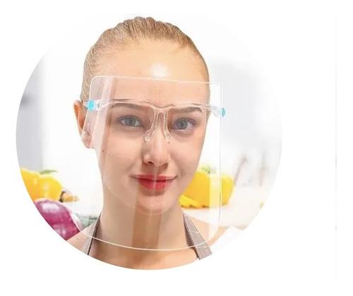 Careta Tipo Gafas Proteccion Facil Antifluido Antiempañante