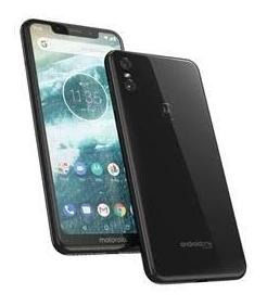 Celular Motorola One 64 Gb Preto.