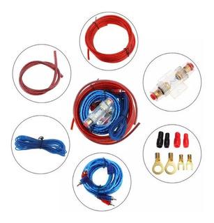 Kit Cables Para Amplificador Y Subwoofer 1500w / 213004