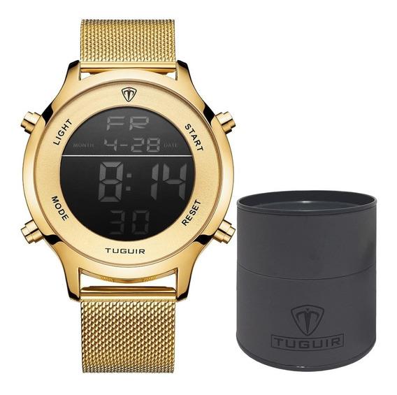 Relógio Masculino Unisexx Tuguir Esportivo Digital Original