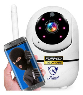 Camara Wifi Ip Full Hd Seguridad Rastreo Movimiento Vision Nocturna Alarma Audio Espia Celular Grabacion Nube Amazon