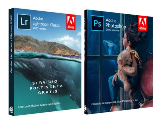 Adobe Photoshop Cc 2020 + Lightroom Classic