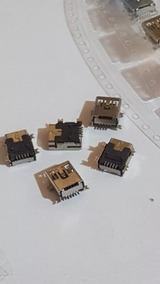 Kit Com 10 Conector De Carga V3 5 Pinos Gps Mp3 Pinos A