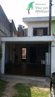Sobrado Residencial À Venda, Parque Pinheiros, Taboão Da Serra. - So0098