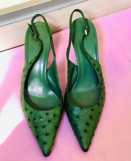 Sapato Gucci Verde