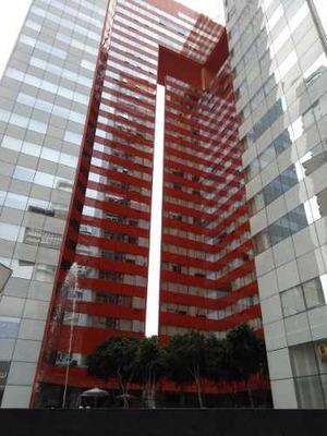Renta Extraordinaria Oficina Haus Santa Fé Semiamueblada