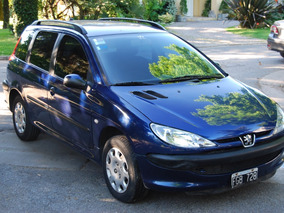 Peugeot 206 1.6 Sw Xr Confort, 2005, Muy Bueno!!