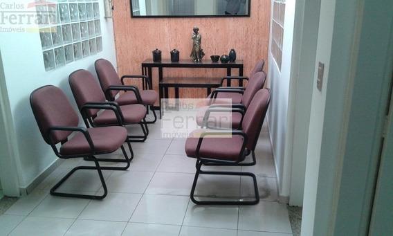 Casa Térrea Comercial 4 Salas 4 Vagas 120 Metros - Cf21946