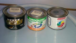 Pinturas Eurocolor Champion Eurometalic (gris/crema/cobre)