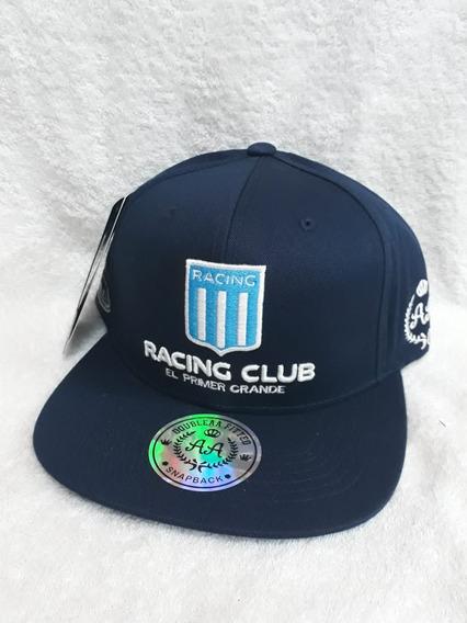 Gorras Oficiales Racing Club..