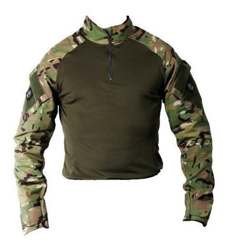 Camiseta Masculina Militar Camuflado Airsoft Bélica Steel