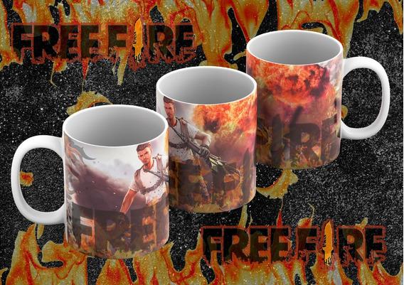 Diseños Para Taza Free Fire