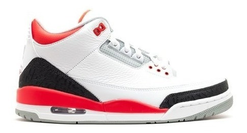 Air Jordan 3 Retro - Fire Red / 2013 Release