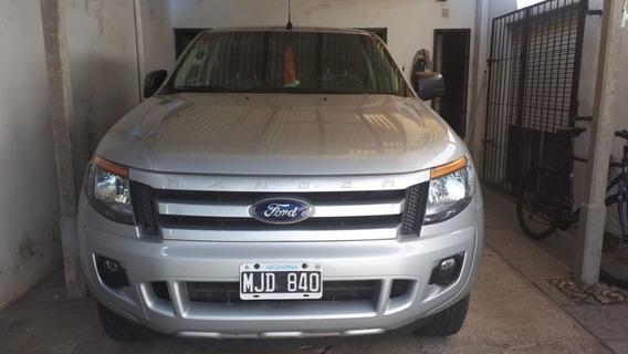 Ford Ranger 3.2 Cd 4x4 Xls Gris Plata 2013 275.000 Km Roas