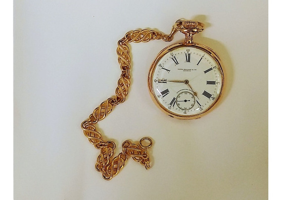 Patek Philipe Relógio De Bolso Ouro 18 K 750