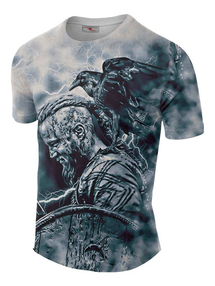 Remera Sublimada Vikings Ranwey Cs326