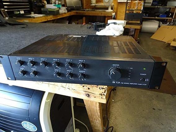 Amplificador Toa A-724   240 Watt Integrated Mixer Amplifi ®