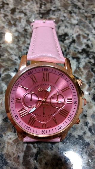 Relógio Feminino Cor-de-rosa