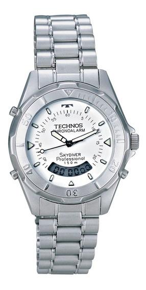 Relógio Technos Skydiver Masculino Anadigi T205573b