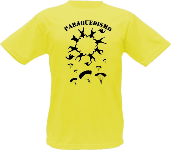 Camiseta Paraquedismo Voar Adrenalina Saltar T-shirt