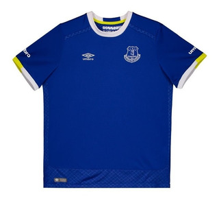 Camisa Umbro Everton Home 2017 Juvenil