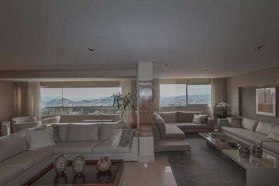Apartamento Com 4 Quartos À Venda, 215 M² Por R$ 2.812.000 - Vila Da Serra - Nova Lima/mg - Ap0184