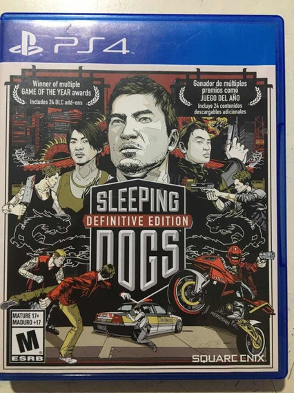 Sleeping Dogs Definitive Edition,playstation 4,midia Fisica