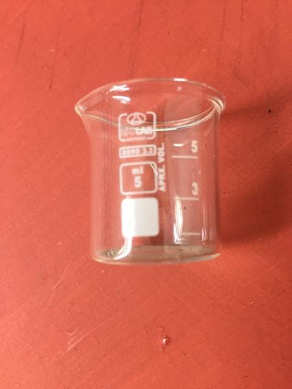Vaso Precipitado Laboratorio 5 Ml Vidrio Borosilicato Mini