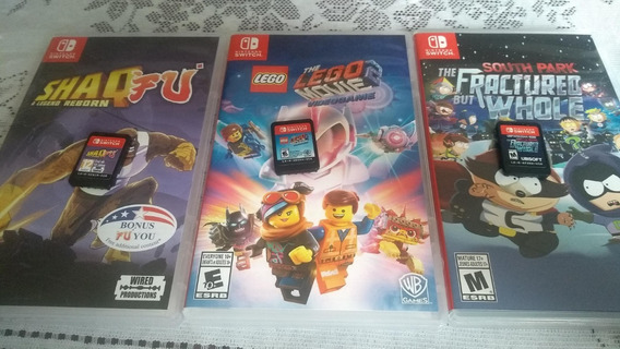South Park The Fractured But Whole + 2 Jogos Nintendo Switch