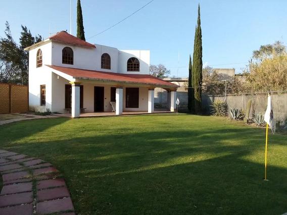 Casa En Renta Camino Antiguo A Xochimilco., Magdalena Apasco