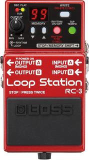 Pedal Boss Rc3 Loop Station 99 Memorias Rc 3 Nota Fiscal