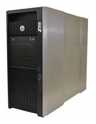 Workstation Hp Z820 2x Xeon 128gb Ssd K2000