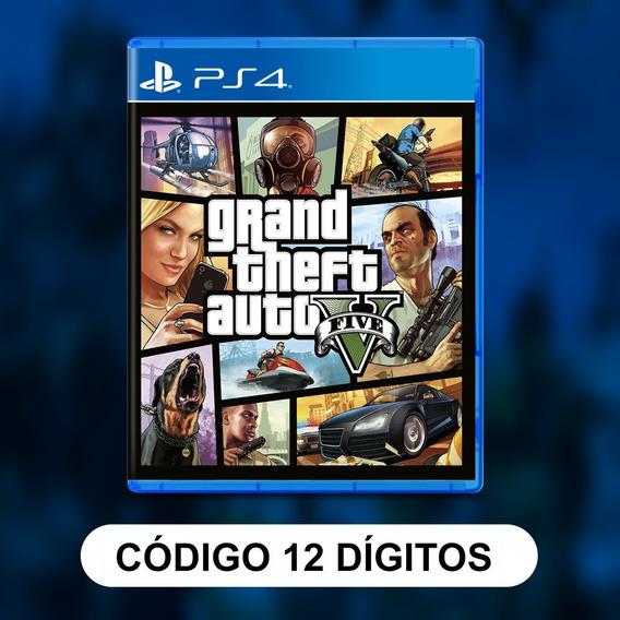 Grand Theft Auto V Ps4 Psn Envio Digital Original