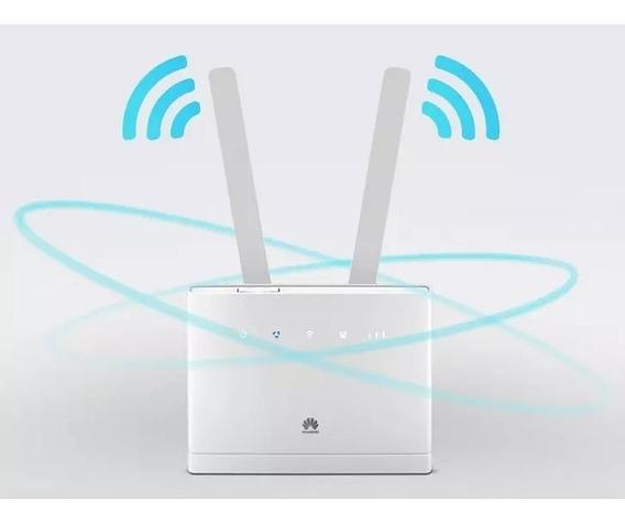 Modem Roteador 3g 4g Huawei Cpe B310-518 Para Chip E Rural
