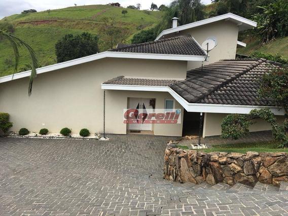 Chácara Com 6 Dormitórios À Venda, 4483 M² Por R$ 2.700.000 - Igaratá - Igaratá/sp - Ch0100