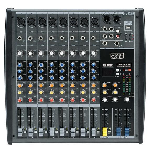 Mixer Mark Audio Cmx 08 Usb