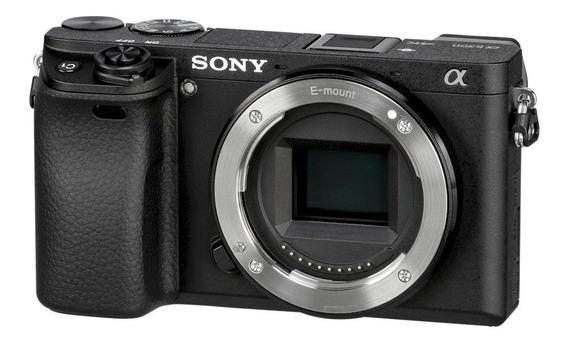 Camera Sony Profissional 4k Sony A6300 Somente O Corpo