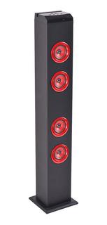 Parlante Alto Kolke Kpe039 Rojo 50w Bluetooth Usb Microsd