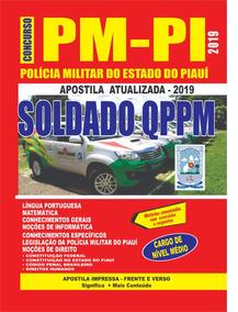 Apostila Pm-pi - Soldado Preparatória 2019