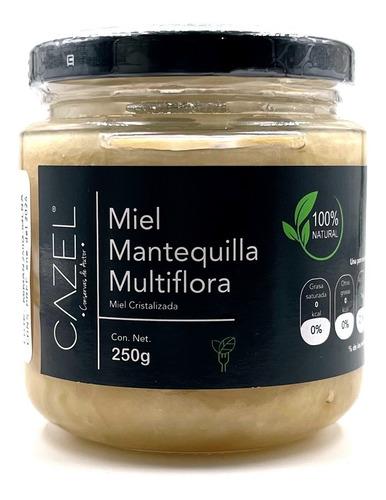 Imagen 1 de 4 de Miel Mantequilla Multiflora Pura De Abeja 250g Oaxaca