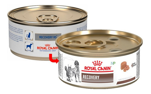 Lata Royal Canin Recovery Perros Y Gatos 165gr. Np