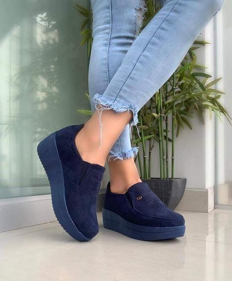 Mocasine Alpargatas Zapatos De Dama